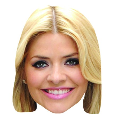 A Cardboard Celebrity Holly Willoughby Big Head