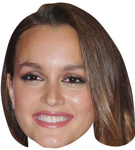 A Cardboard Celebrity Mask of Leighton Meester
