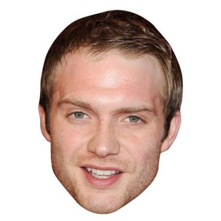 A Cardboard Celebrity Big Head of Chris Fountain