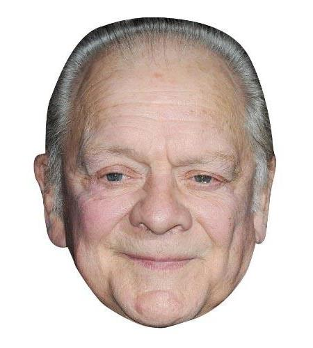 A Cardboard Celebrity Big Head of David Jason
