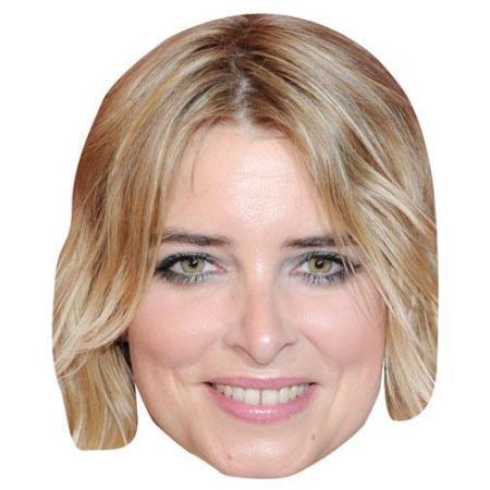 A Cardboard Celebrity Big Head of Emma Atkins