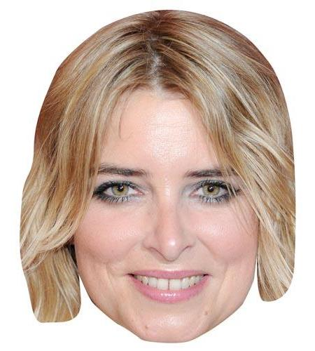 A Cardboard Celebrity Big Head of Emma Atkins