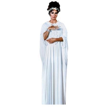A Lifesize Cardboard Cutout of Elizabeth Taylor wearing white
