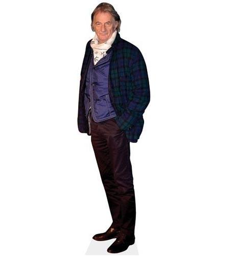 A Lifesize Cardboard Cutout of Paul Smith wearing a scarf