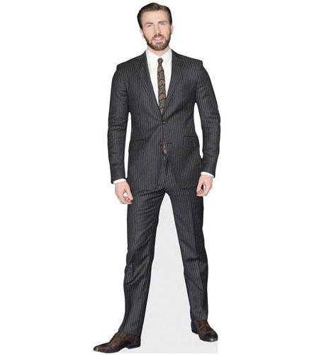 Chris Evans Cardboard Cutout