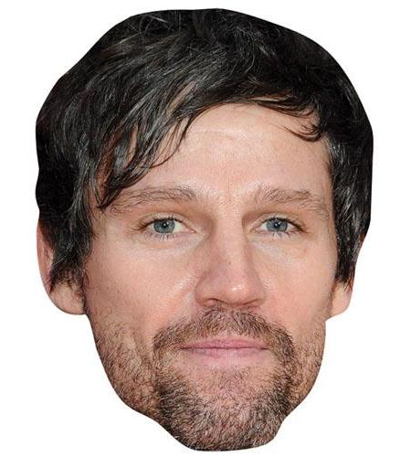 A Cardboard Celebrity Big Head of Jason Orange