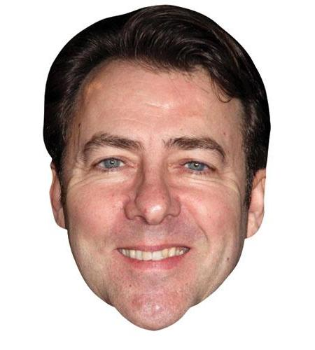 A Cardboard Celebrity Big Heads of Jonathan Ross