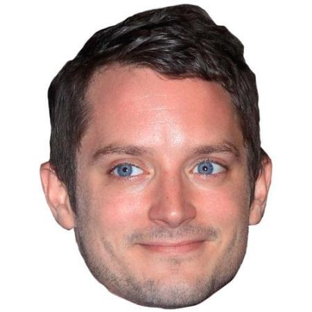 A Cardboard Celebrity Big Head of Elijah Wood