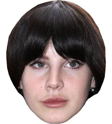 A Cardboard Celebrity Lana Del Rey Big Head