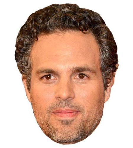 A Cardboard Celebrity Mark Ruffalo Big Head