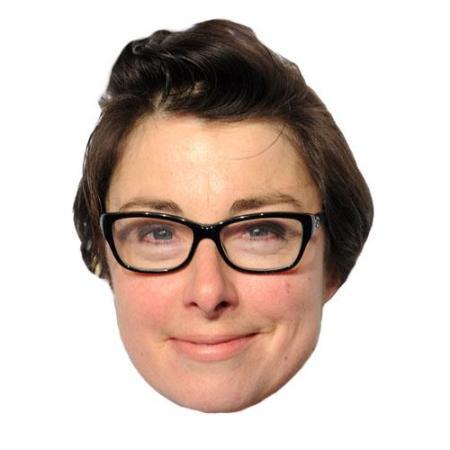 A Cardboard Celebrity sue perkins Big Head