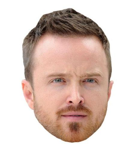 A Cardboard Celebrity Aaron Paul Big Head