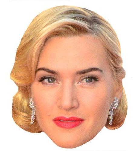 A Cardboard Celebrity Kate Winslet Big Head