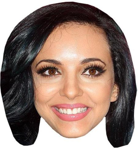 A Cardboard Celebrity Big Head of Jade Thirlwall