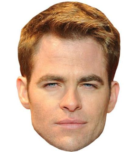 Chris Pine Celebrity Mask