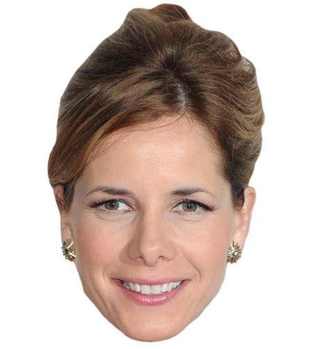 A Cardboard Celebrity Big Head of Darcey Bussell