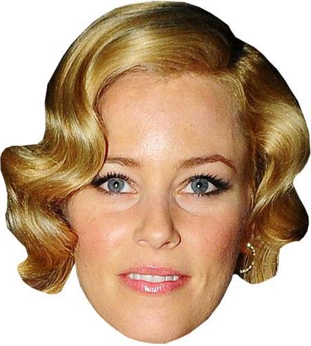 A Cardboard Celebrity Big Head of Elizabeth Banks