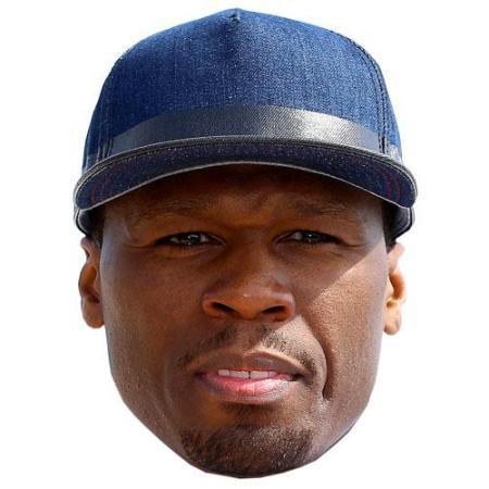 A Cardboard Celebrity 50 Cent Big Head