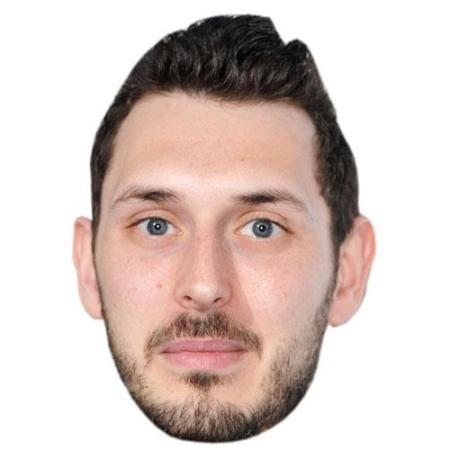 A Cardboard Celebrity Blake Harrision Big Head
