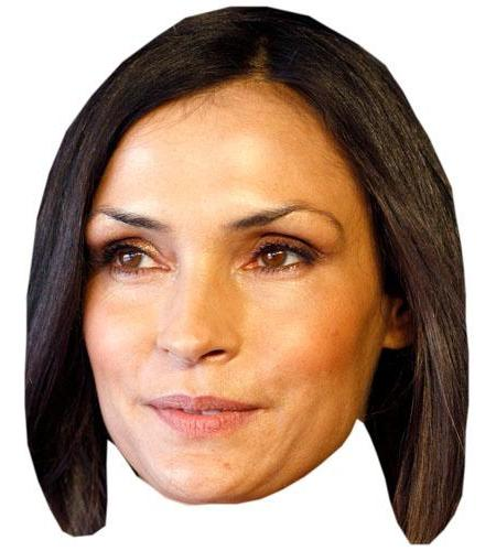 A Cardboard Celebrity Famke Janssen Big Head