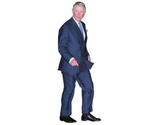 Blue Suit Life Size Cutout Stephen Mulhern