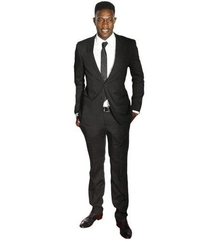 A Lifesize Cardboard Cutout of Danny Welbeck wearing a suit