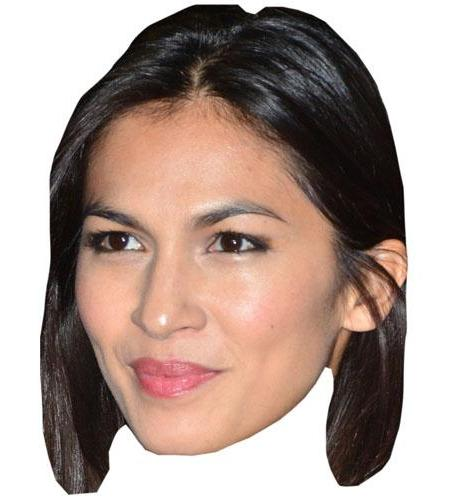A Cardboard Celebrity Elodie Yung Big Head