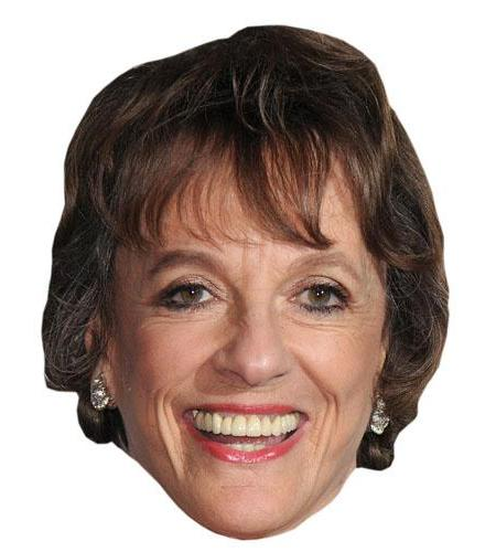 A Cardboard Celebrity Big Head of Esther Rantzen