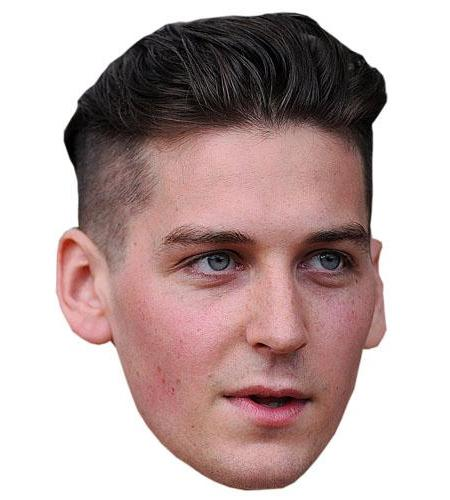 A Cardboard Celebrity Mask of George Craig