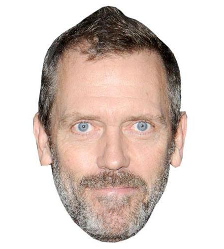 A Cardboard Celebrity Hugh Laurie Big Head