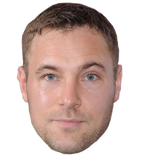Marc Bayliss Cardboard Celebrity Big Head