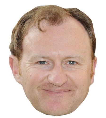 A Cardboard Celebrity Mark Gatiss Big Head