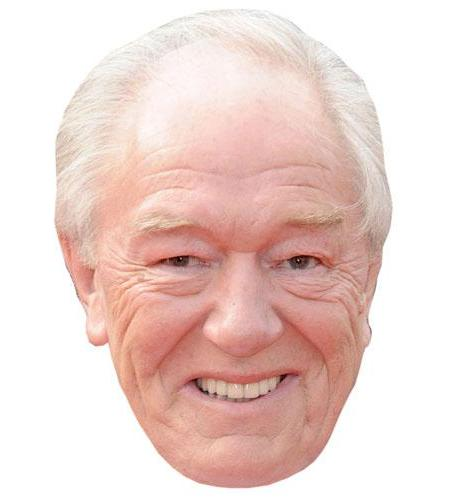 A Cardboard Celebrity Michael Gambon Big Head
