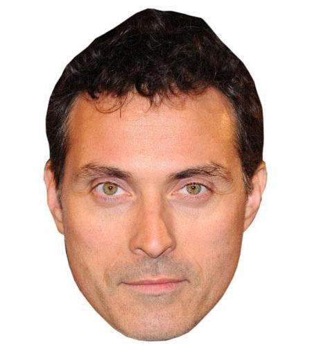 A Cardboard Celebrity Big Head of Rufus Sewell