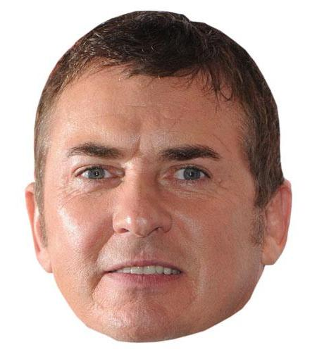 Cardboard Cutout Celebrity Shane Richie Big Head