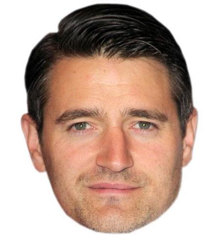Tom Chambers Cardboard Celebrity Big Head