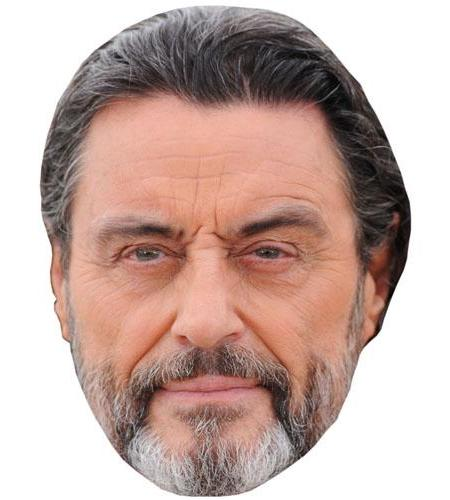 A Cardboard Celebrity Big Head of Ian McShane