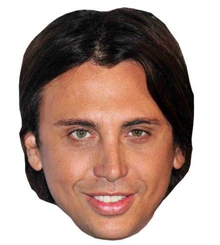 A Cardboard Celebrity Big Head of Jonathan Cheban