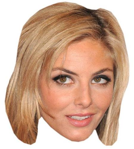 A Cardboard Celebrity Big Head of Tamsin Egerton