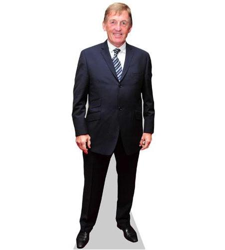 Kenny Dalglish Cardboard Cutout wearing a suit