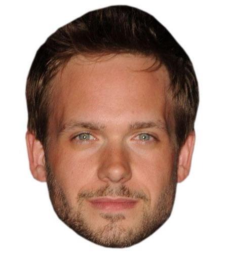 A Cardboard Celebrity Big Head of Patrick J Adams