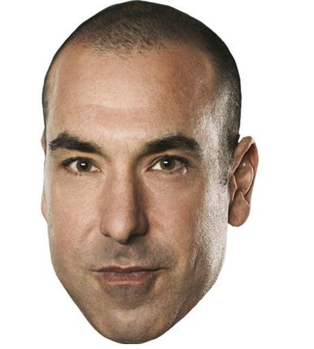 A Cardboard Celebrity Big Head of Rick Hoffman