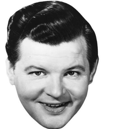 A Cardboard Celebrity Big Head of Benny Hill