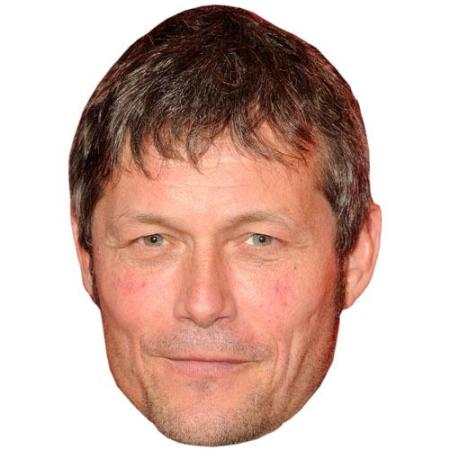 A Cardboard Celebrity Big Head of Bill Ward
