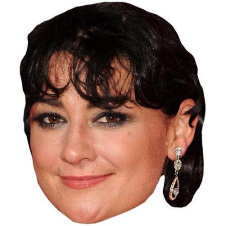 A Cardboard Celebrity Big Head of Natalie J Robb