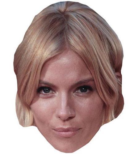 A Cardboard Celebrity Big Head of Sienna Miller