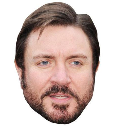 A Cardboard Celebrity Big Head of Simon le Bon