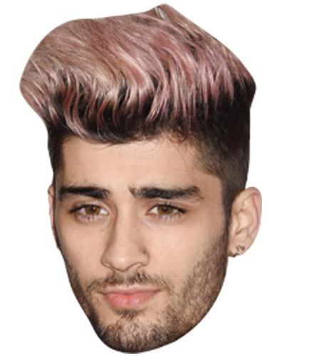 A Cardboard Celebrity Big Head of Zayn Malik