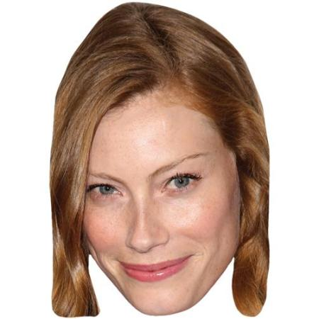 A Cardboard Celebrity Big Head of Alyssa Sutherland