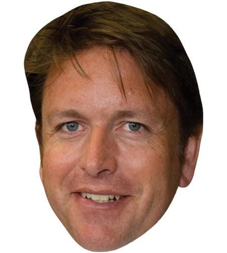 A Cardboard Celebrity Big Head of James Martin
